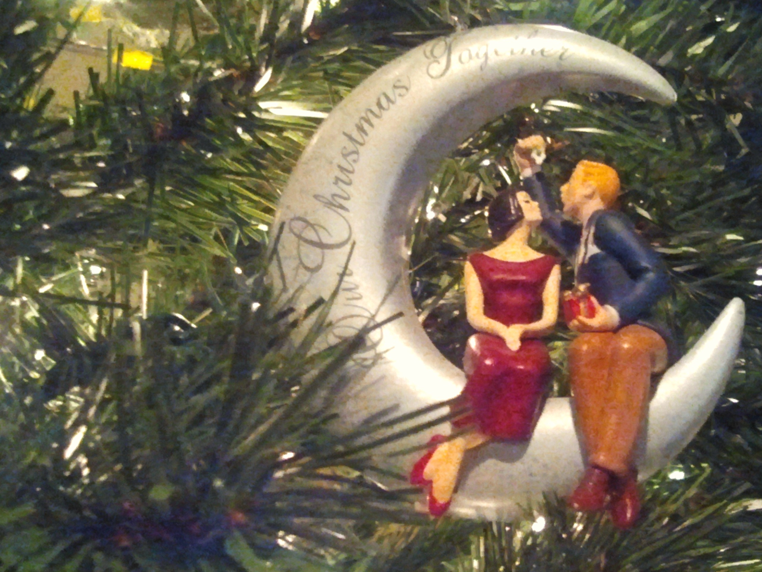 1st Married Christmas Ornaments