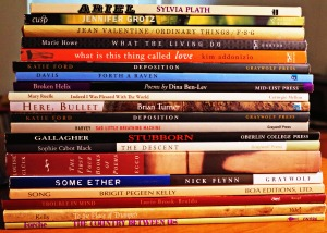 My Top 20 Books of Poetry