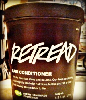 LUSH Retread, $29.95 for 8.4 oz.